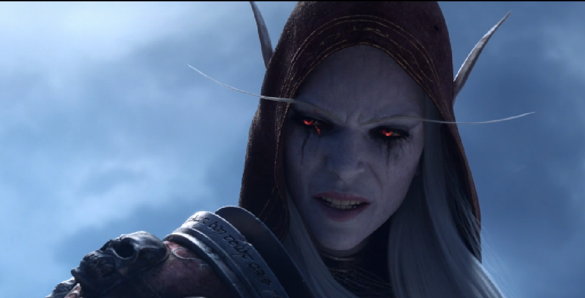 Sylvanas has torn open a hole to the Shadowlands after her defeat in Battle for Azeroth.