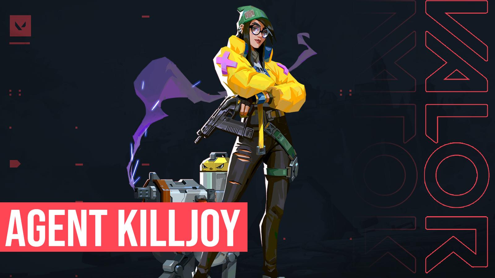 Valorant's Agent Killjoy.