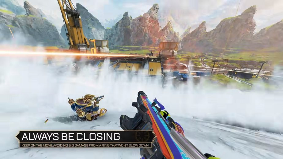 Always be closing gameplay in Apex Legends