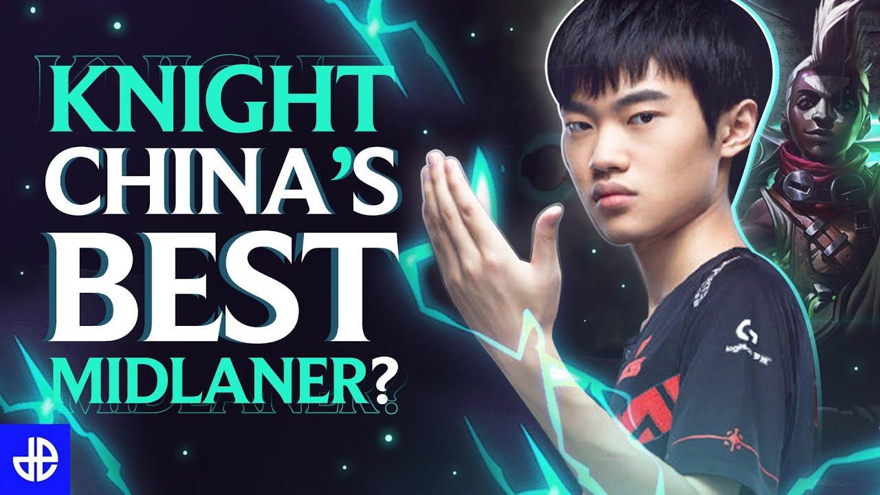 knight China's Best Midlaner