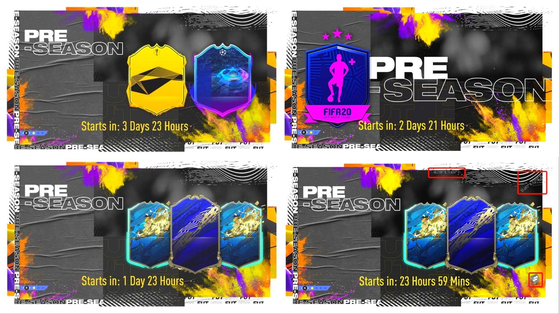 Pre-Season teasers for FIFA 20 Pre- Season