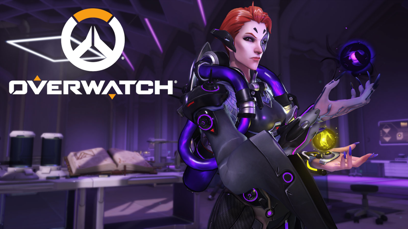 Moira in her lab on Oasis