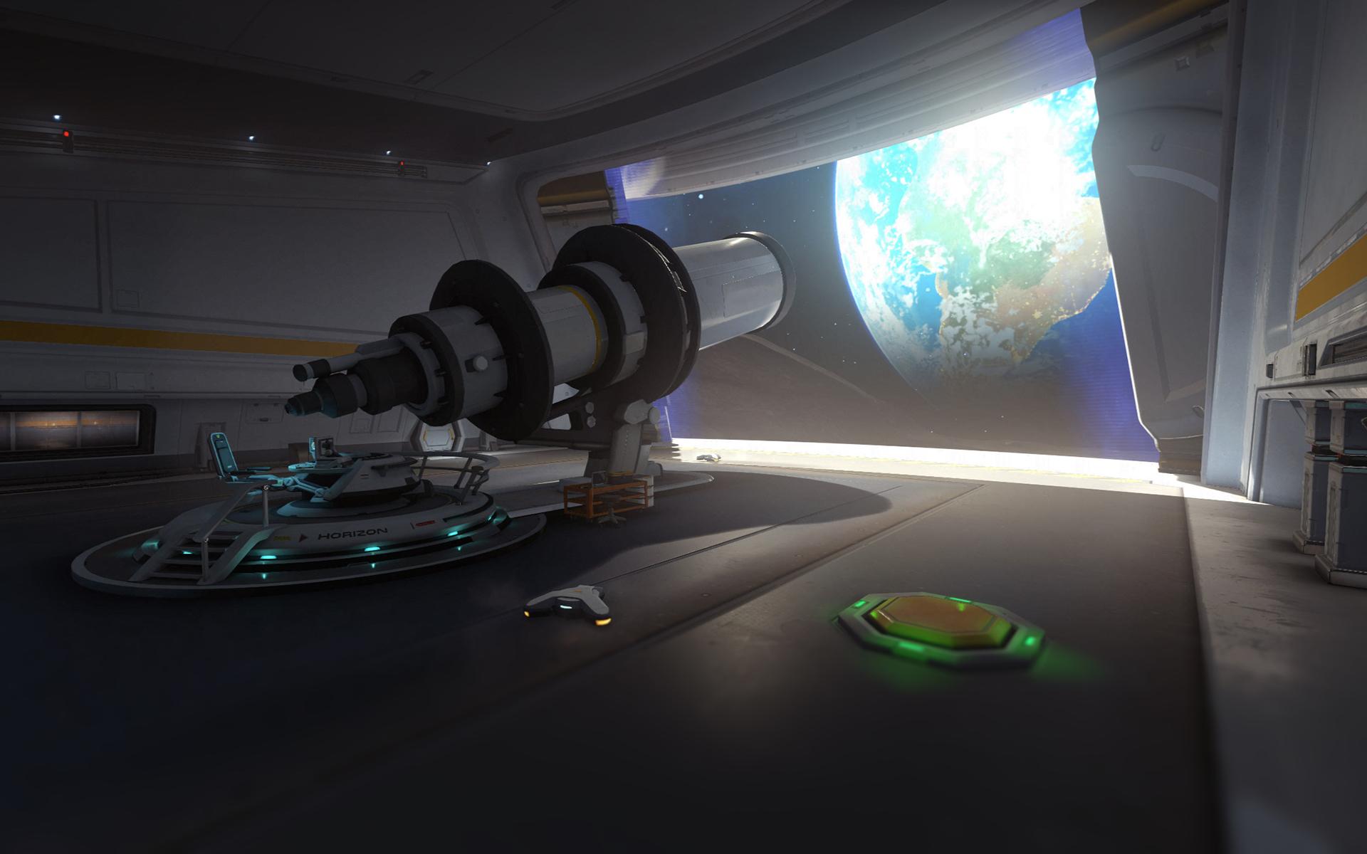 Horizon Lunar Colony spawn in Overwatch
