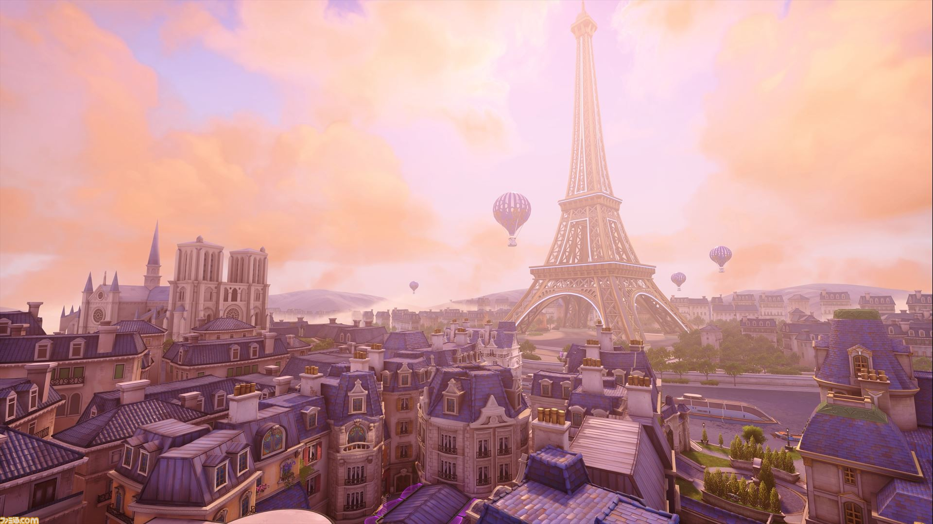 Paris in Overwatch