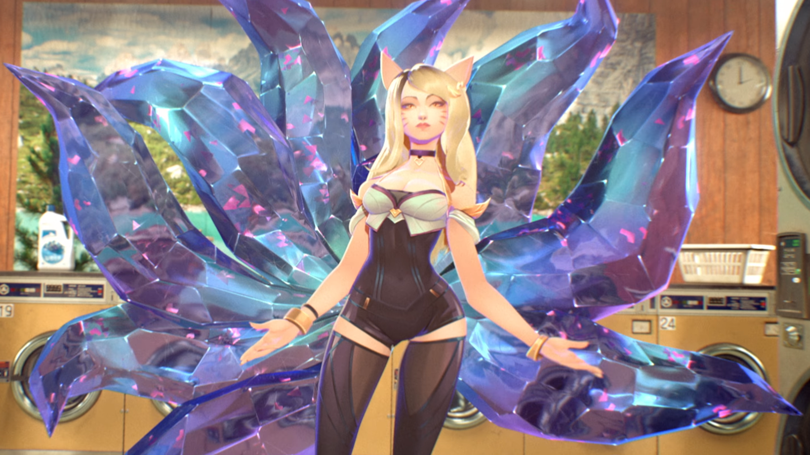 Animated K/DA popstar Ahri is voiced by (G)I-dle star Miyeon for the smash hit