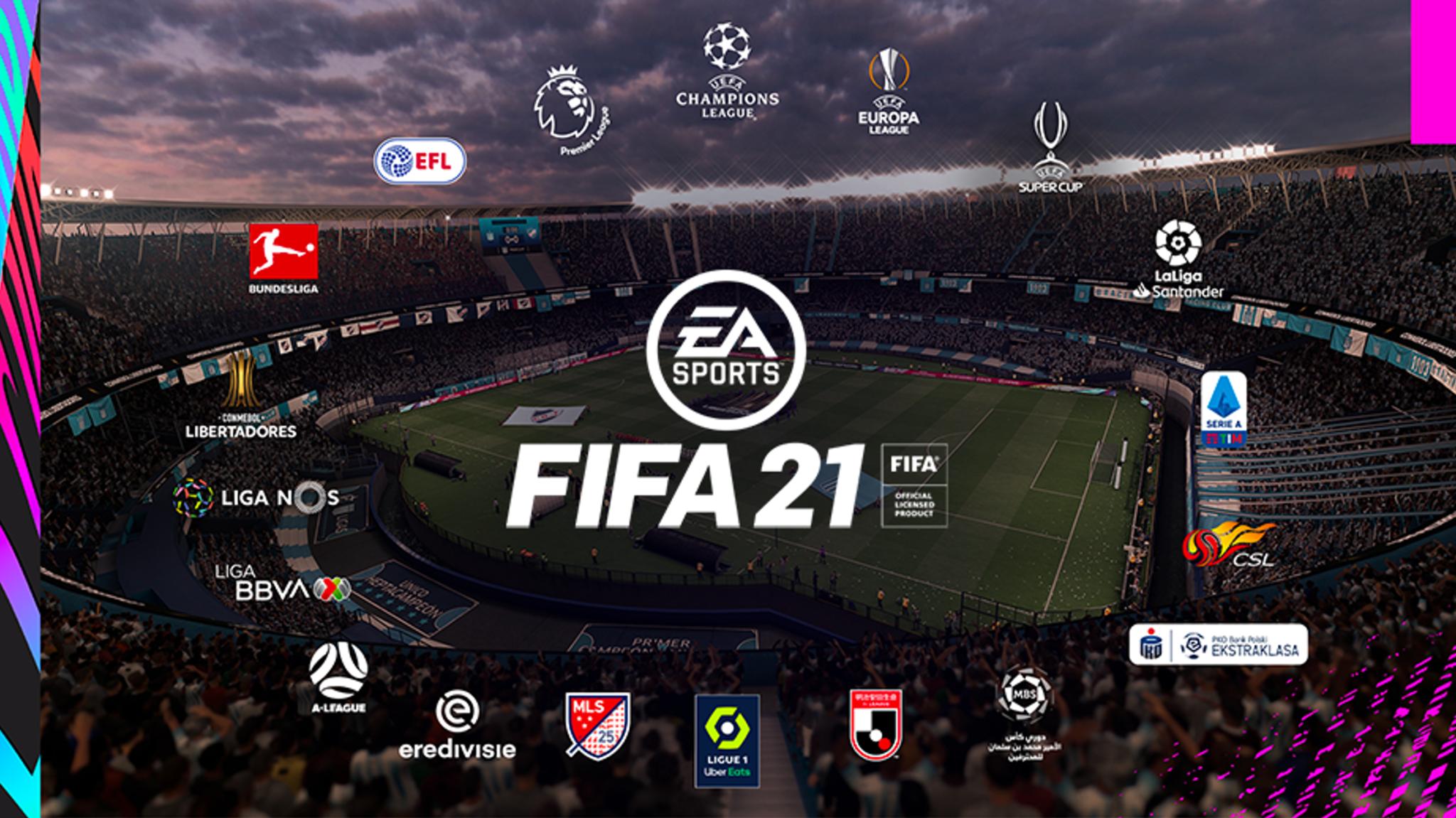 FIFA 21 league logos