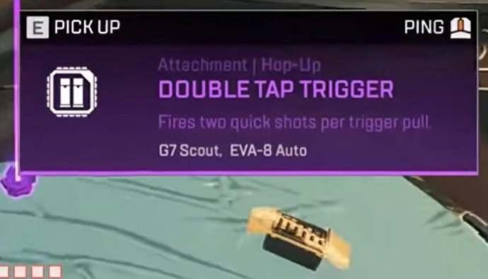 Apex Legends Double Tap Trigger Hop Up