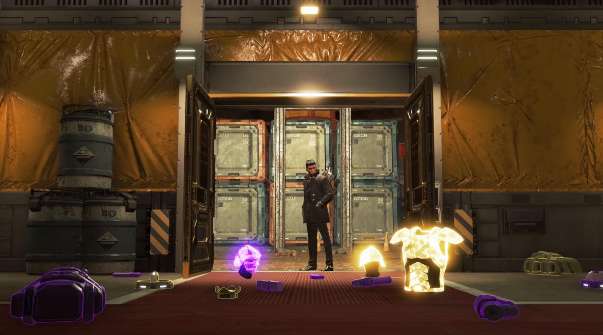 Loot vault in Apex Legends