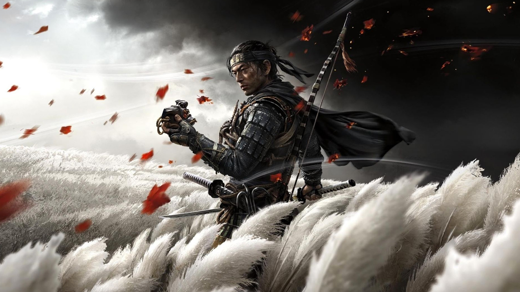 Ghosts of Tsushima poster H3H3