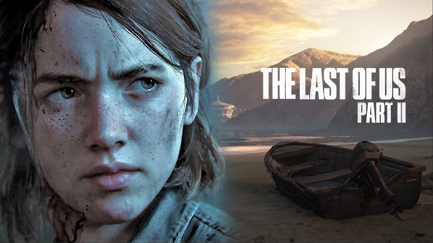 Ellie and Tlou2 alternate loading screen