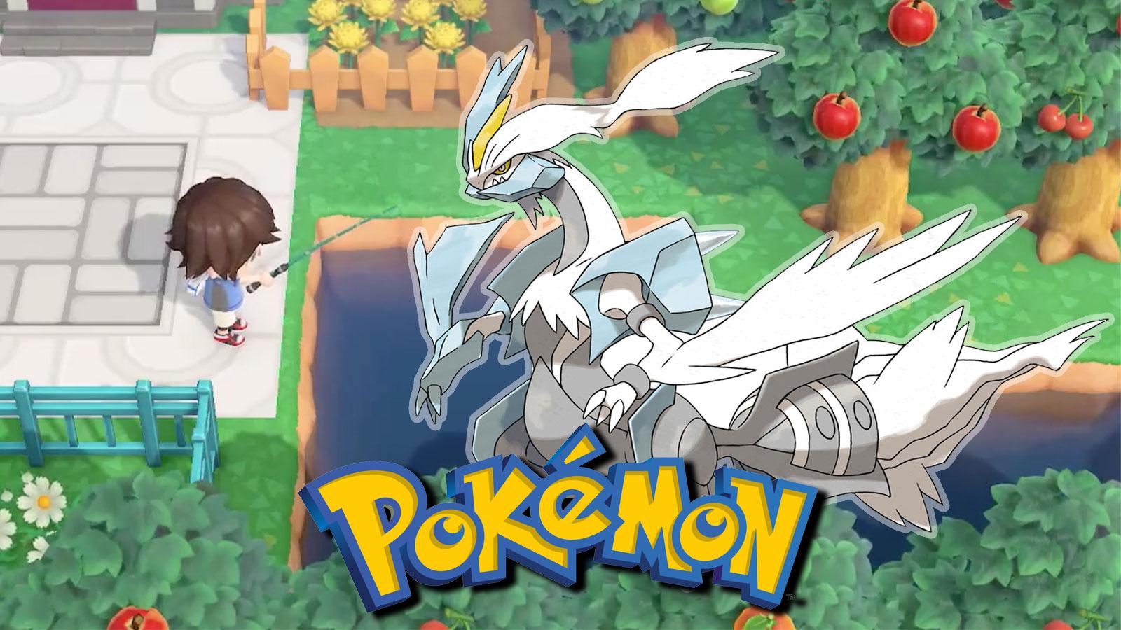 pokemon black and white 2 animal crossing