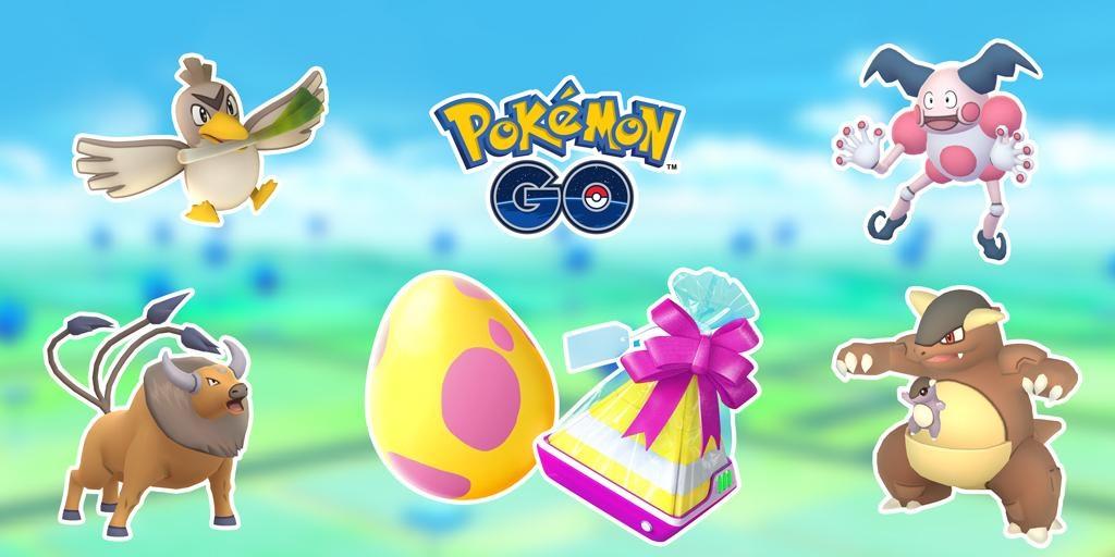 Pokemon Go Regional Gen 1