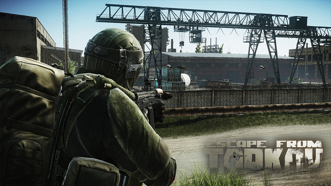 Escape from tarkov character aiming with weapon