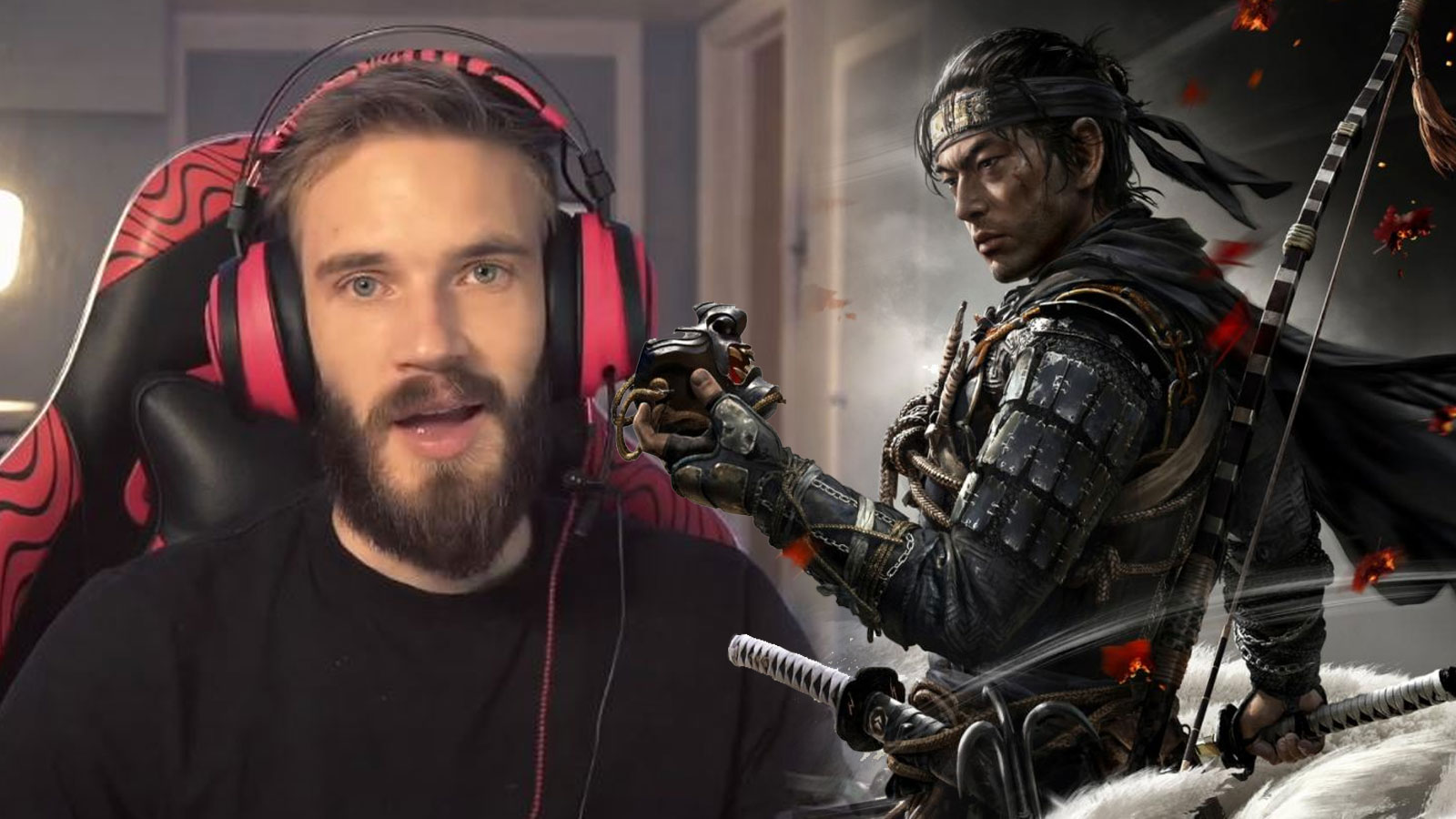 pewdiepie ghost of tsushima