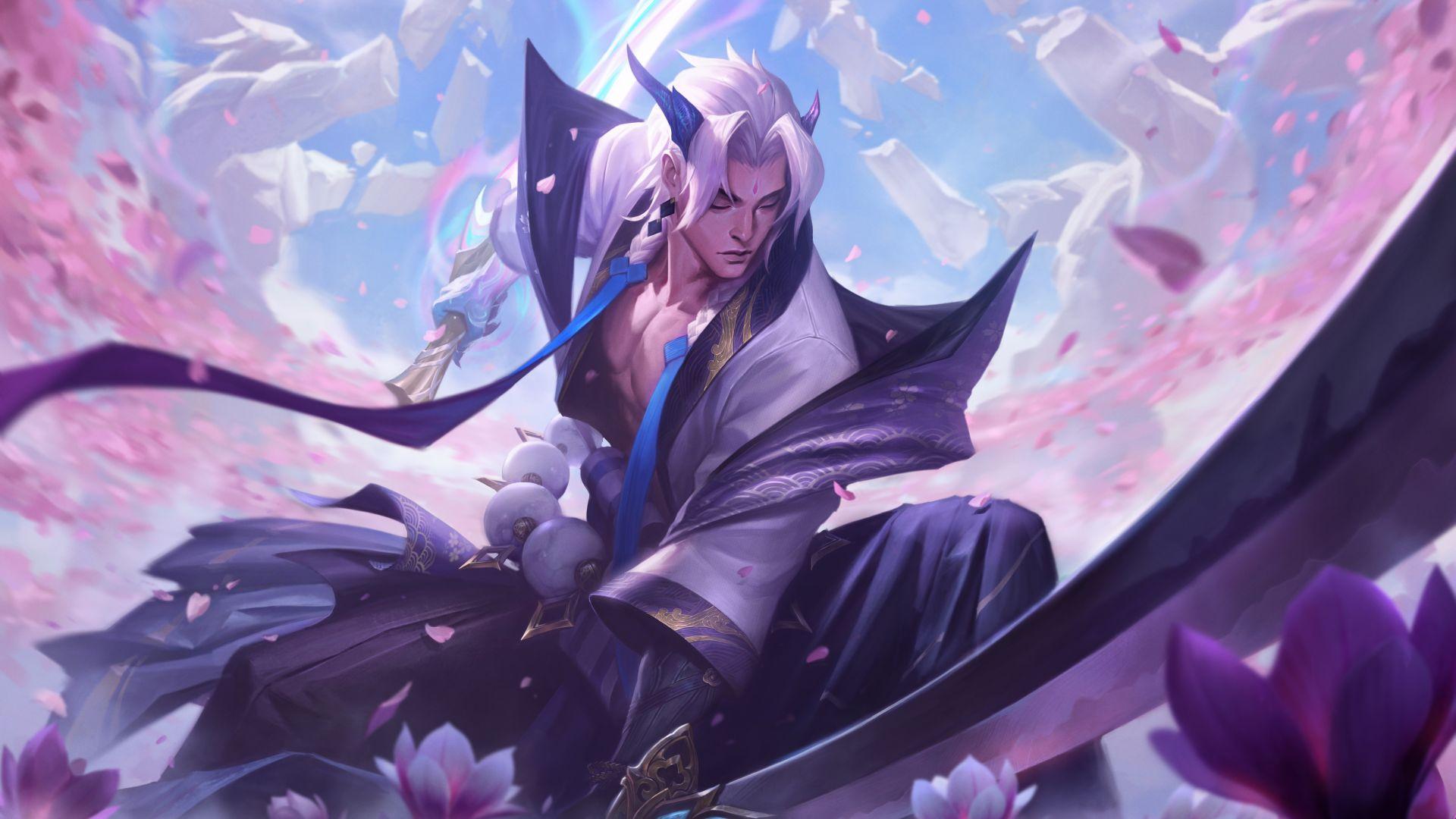 Spirit Blossom Yone in League of Legends
