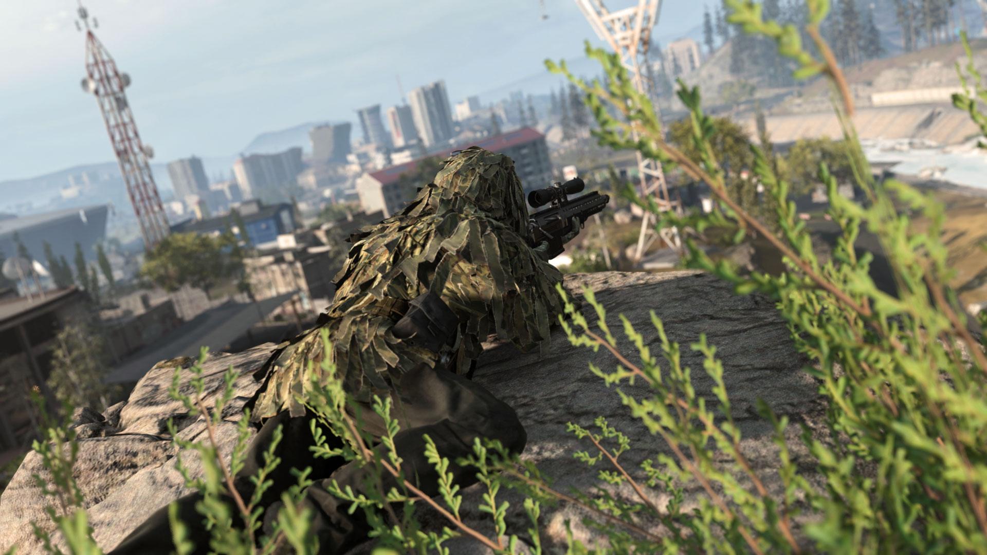 Call of Duty Modern Warfare lying prone