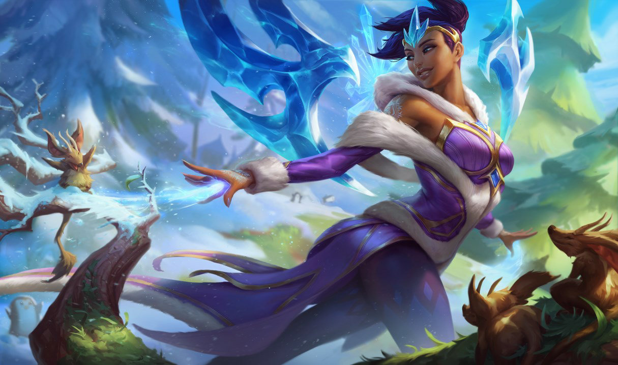 Winter Wonder Karma in League of Legends