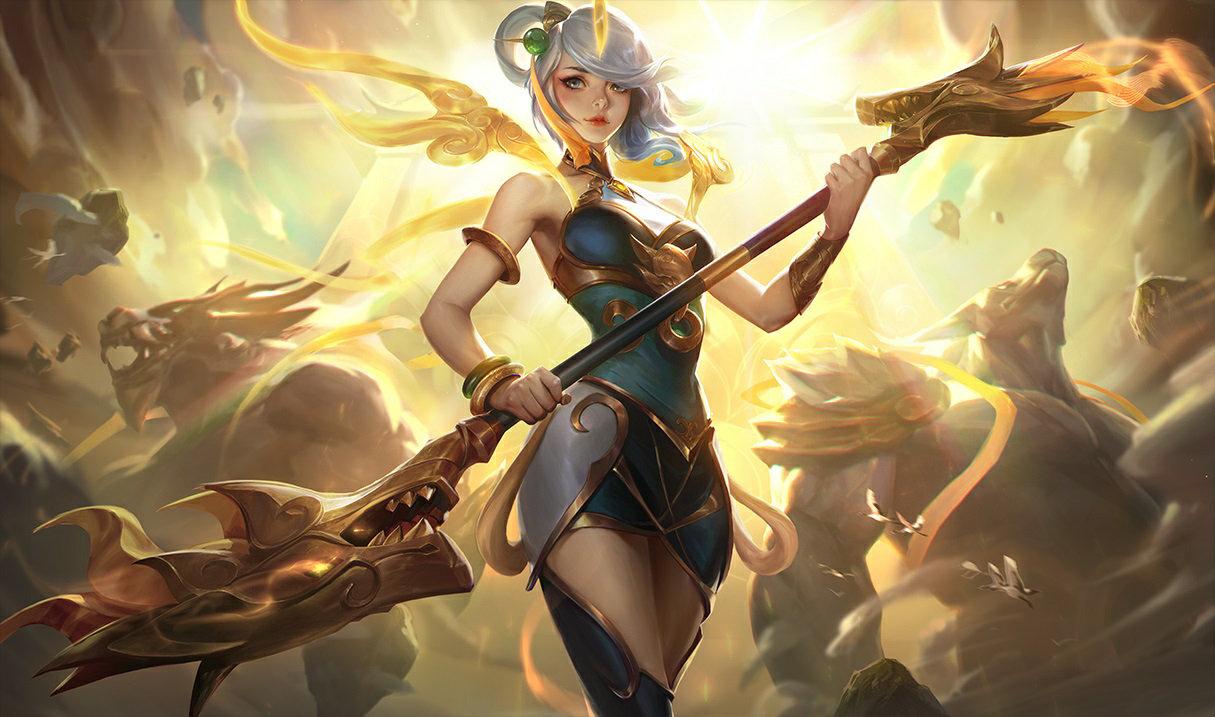 Lunar Empress Lux in League of Legends