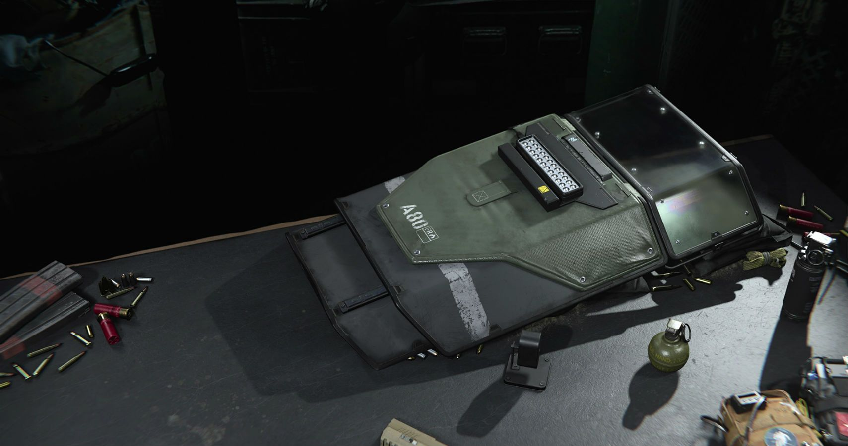 Call of Duty Warzone Riot Shield loadout