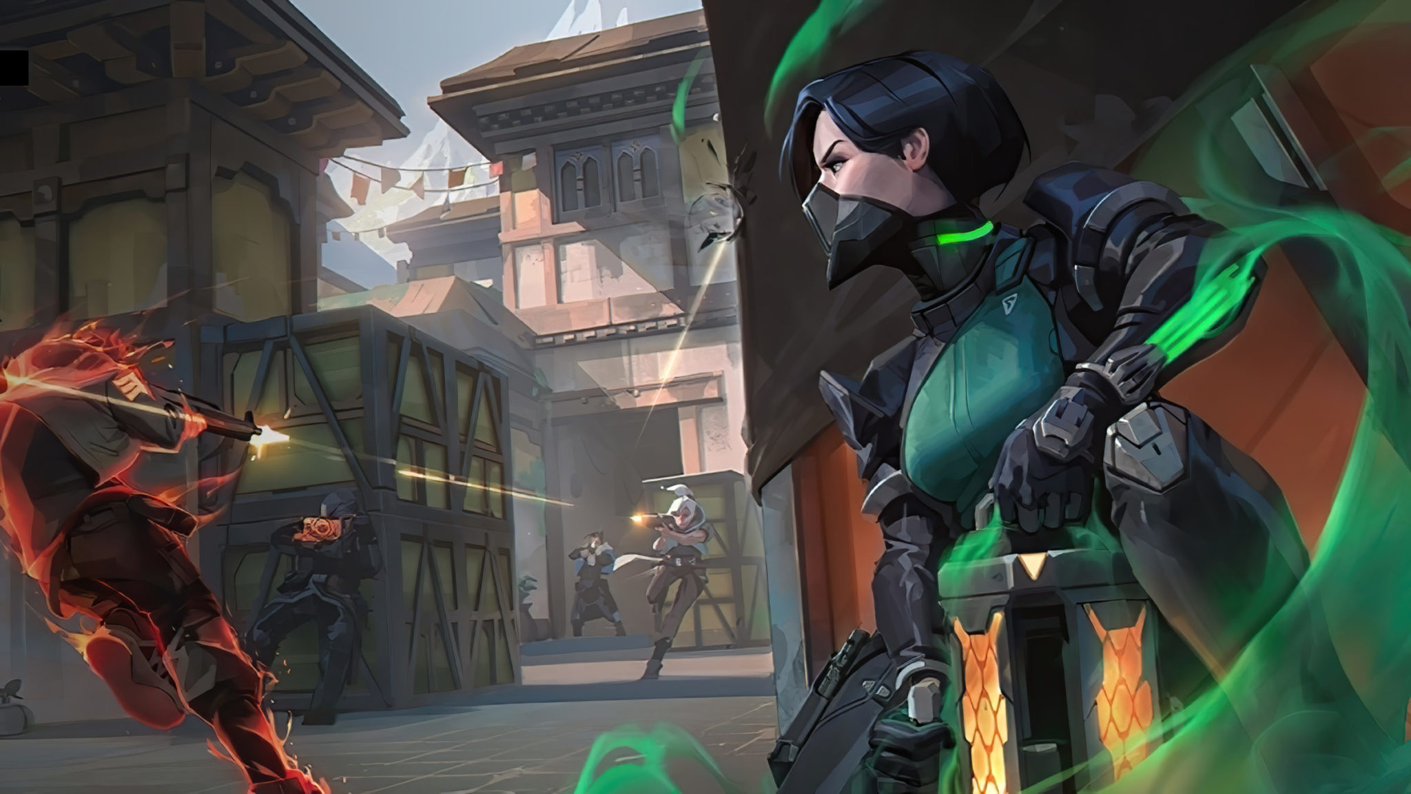 Overwatch figurehead Jeff Kaplan seems to have been inspired by Riot's Valorant title.