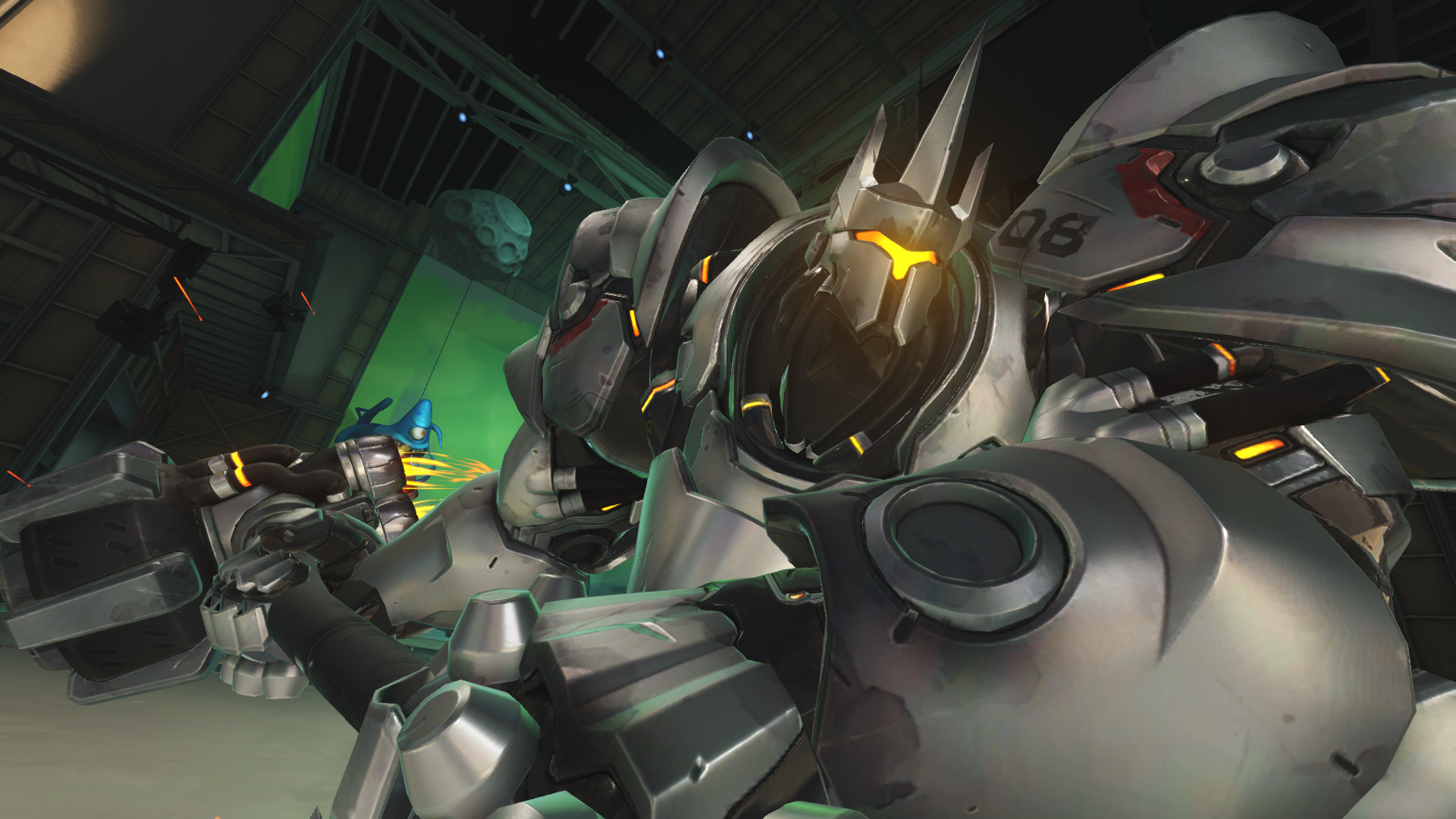 Reinhard ultimate could be removed if Jeff Kaplan gets his way in Overwatch.
