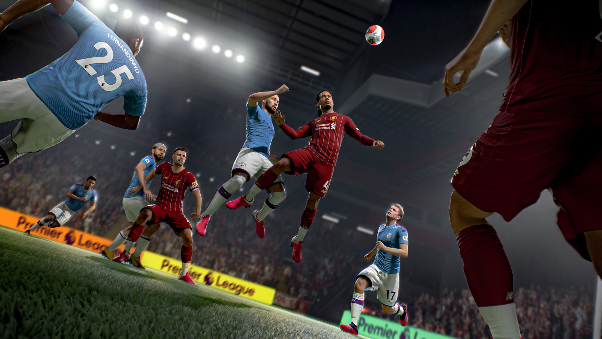 Liverpool vs Manchester City FIFA 21.