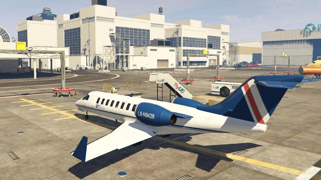 GTA V airport