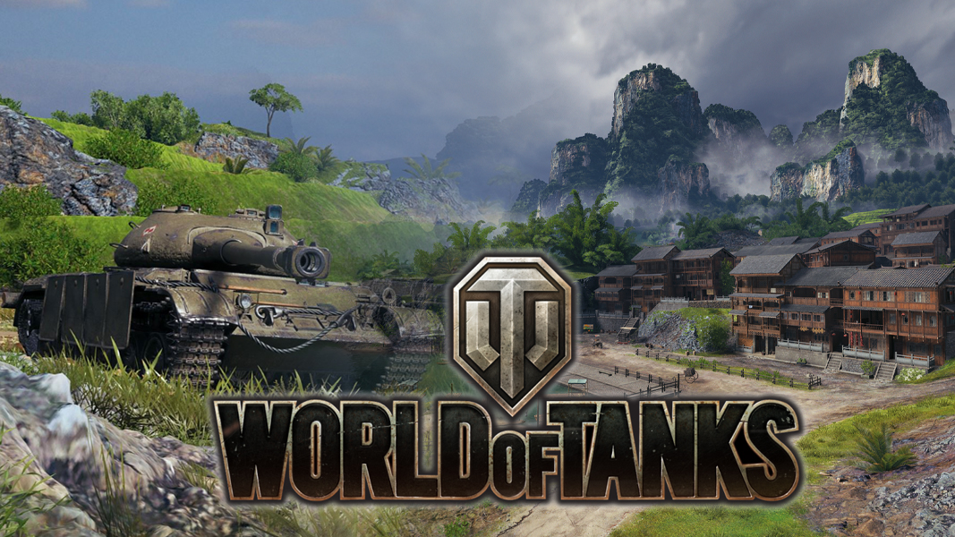 New tank on Pearl River map from World of Tanks