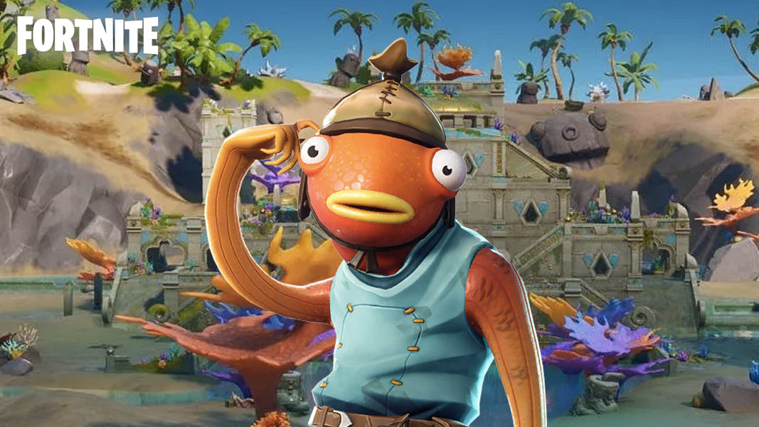 Fortnite fishstick at Coral Castle