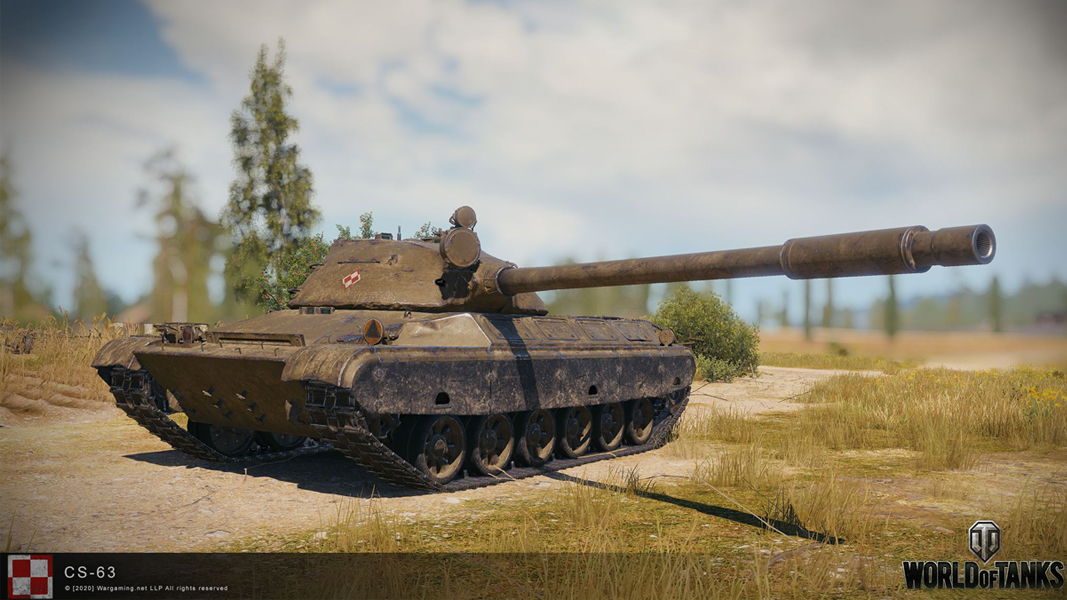 The CS63 tank from World of Tanks