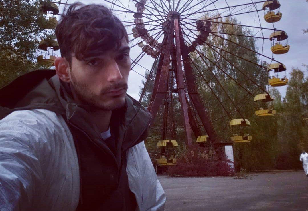 Ice_Poseidon at Ferris Wheel