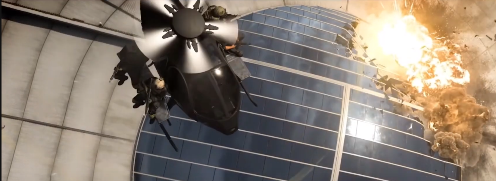 Call of Duty Warzone helicopter