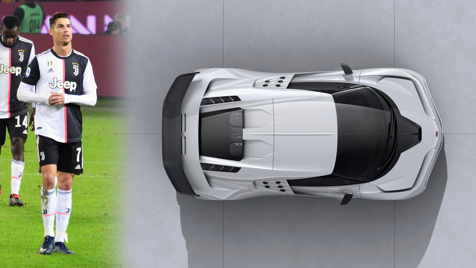 Cristiano Ronaldo Bugatti Centodieci