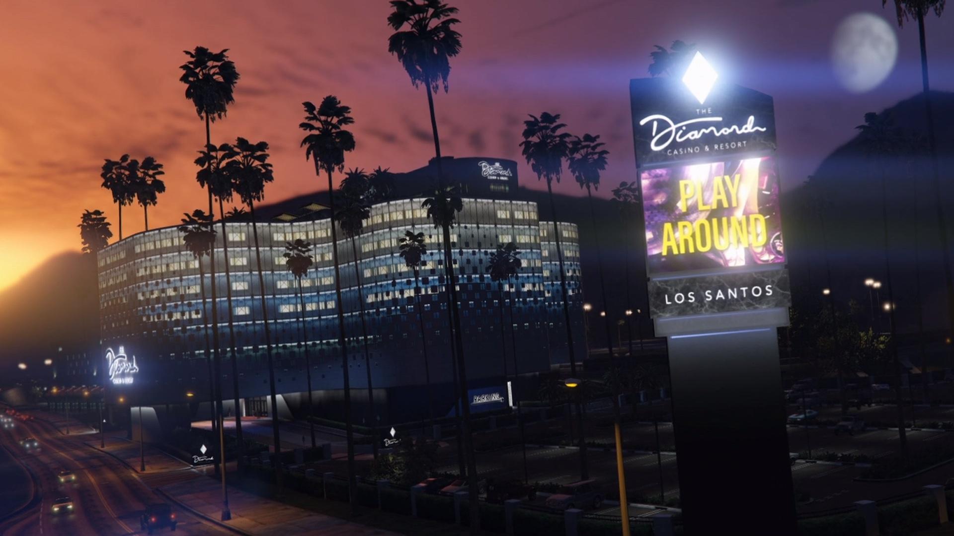 GTA V Diamond Casino