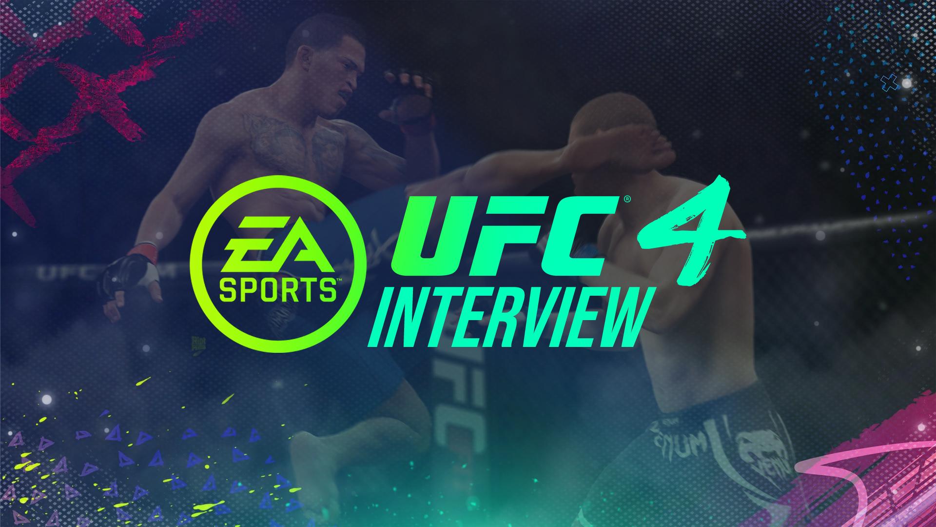 UFC 4 graphic