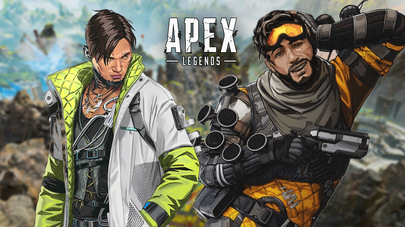 Mirage and Crypto Apex Legends