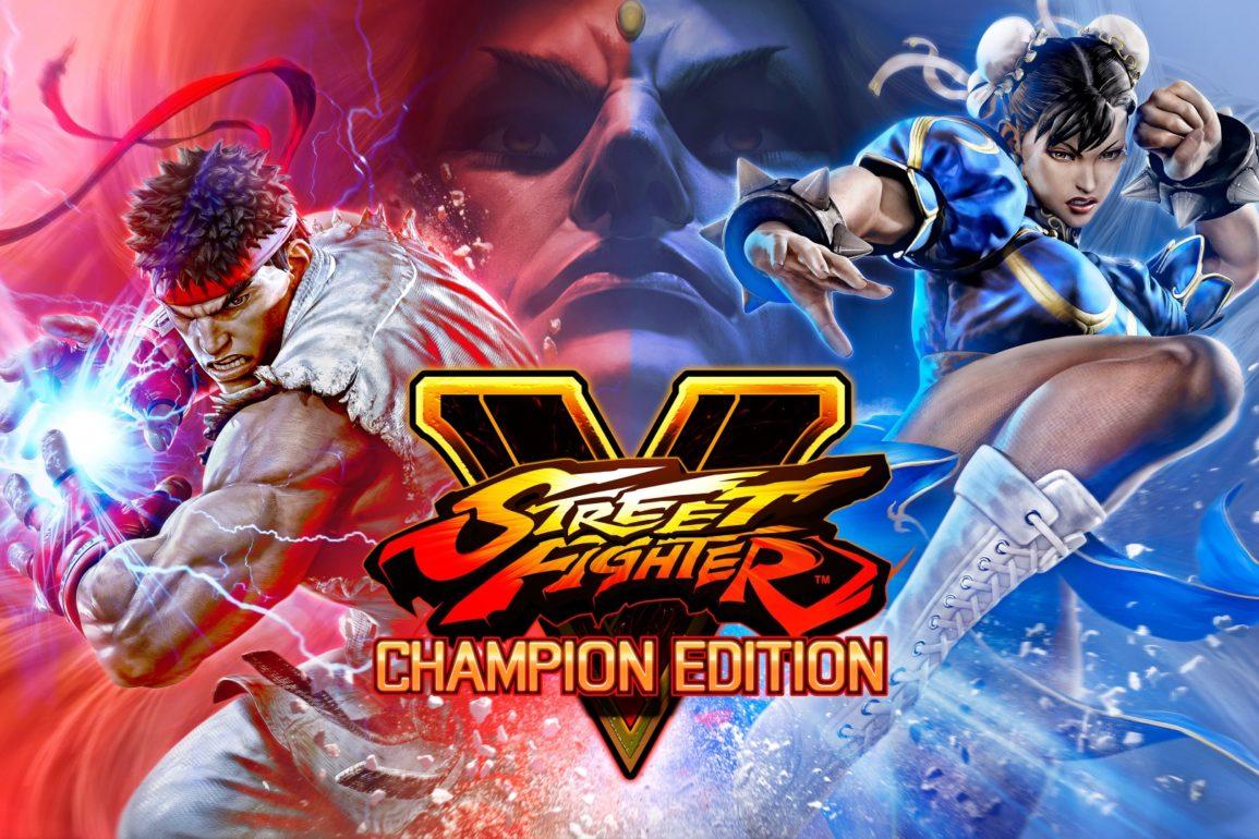 Street Fighter V: Champion Edition key art.