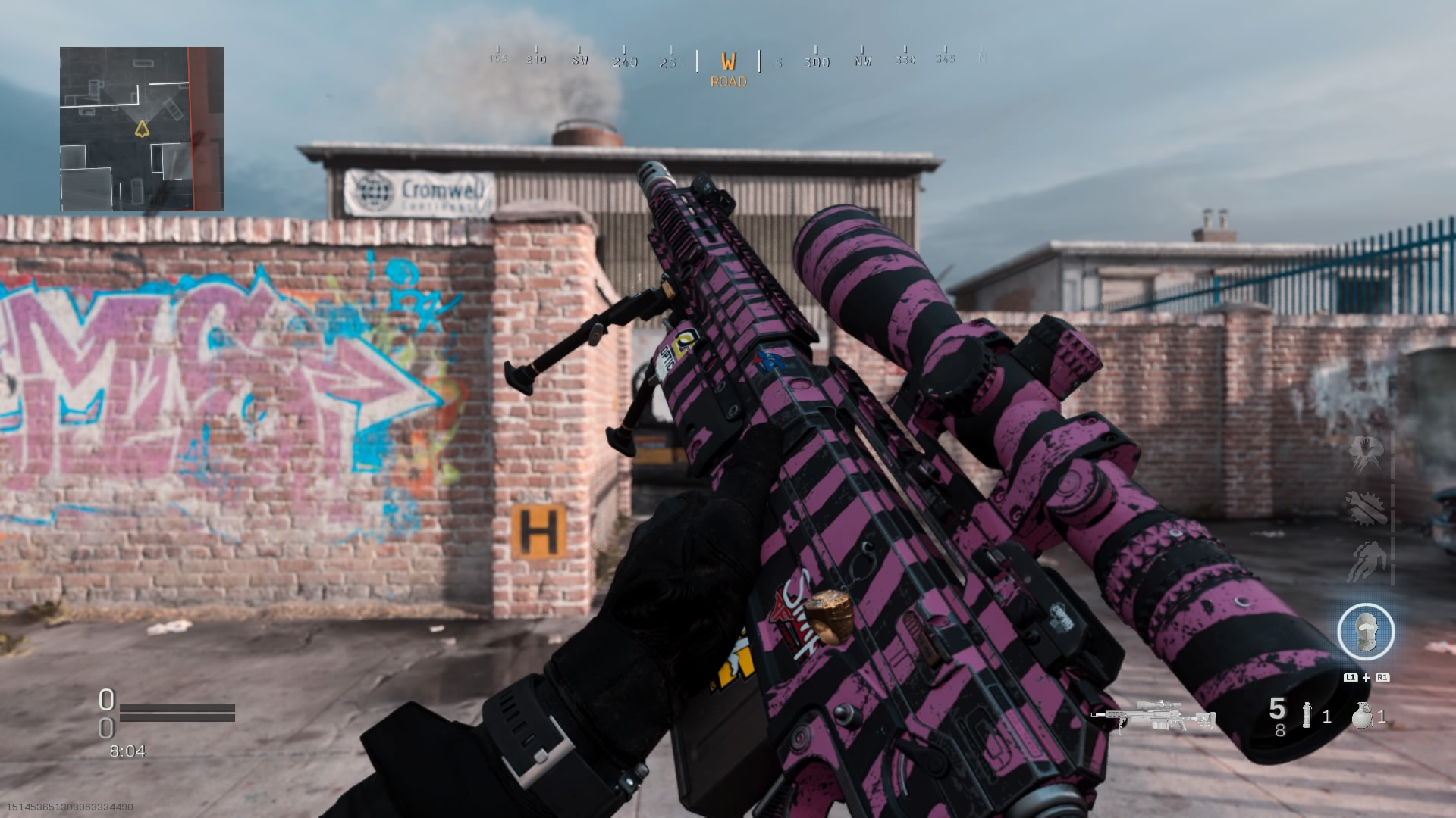Modern Warfare AX-50 weapon inspect