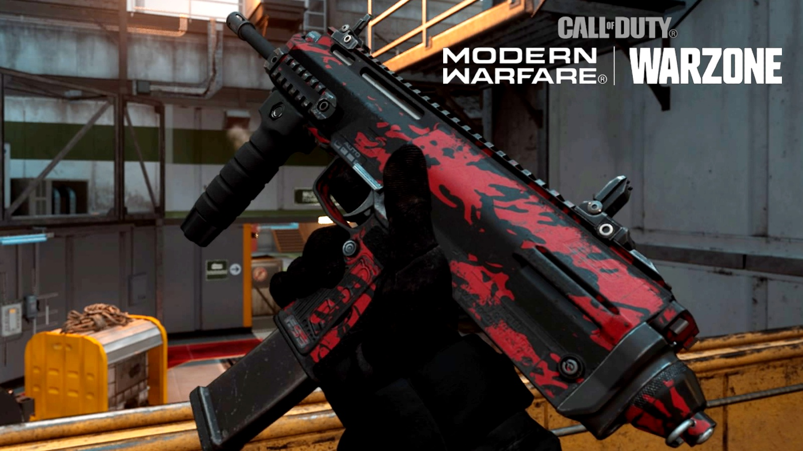 MP7 weapon inspect Modern Warfare and Warzone