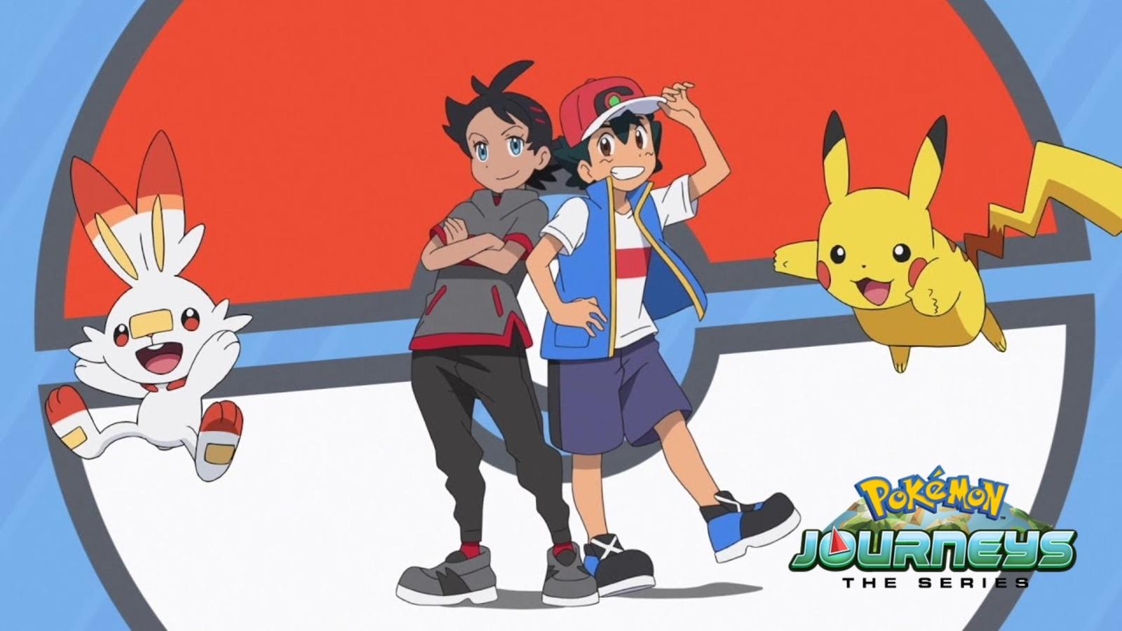 Pokemon Journeys on Netflix