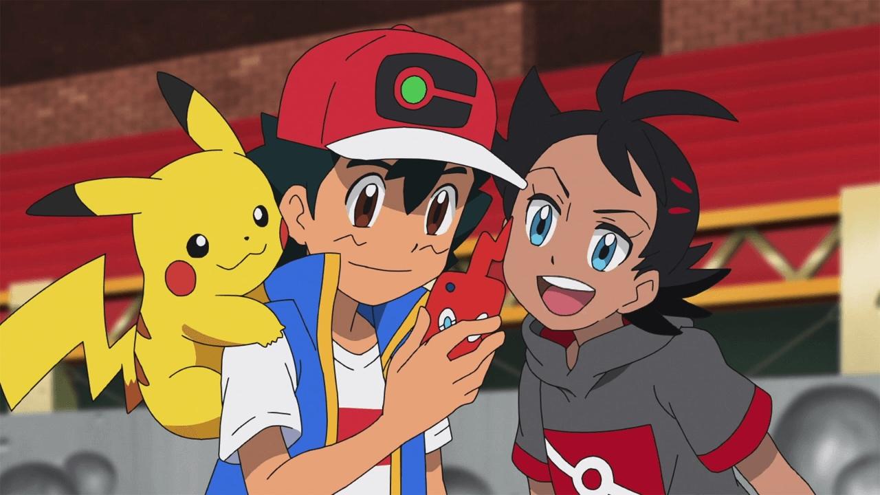 Ash and Goh Pokemon Journeys