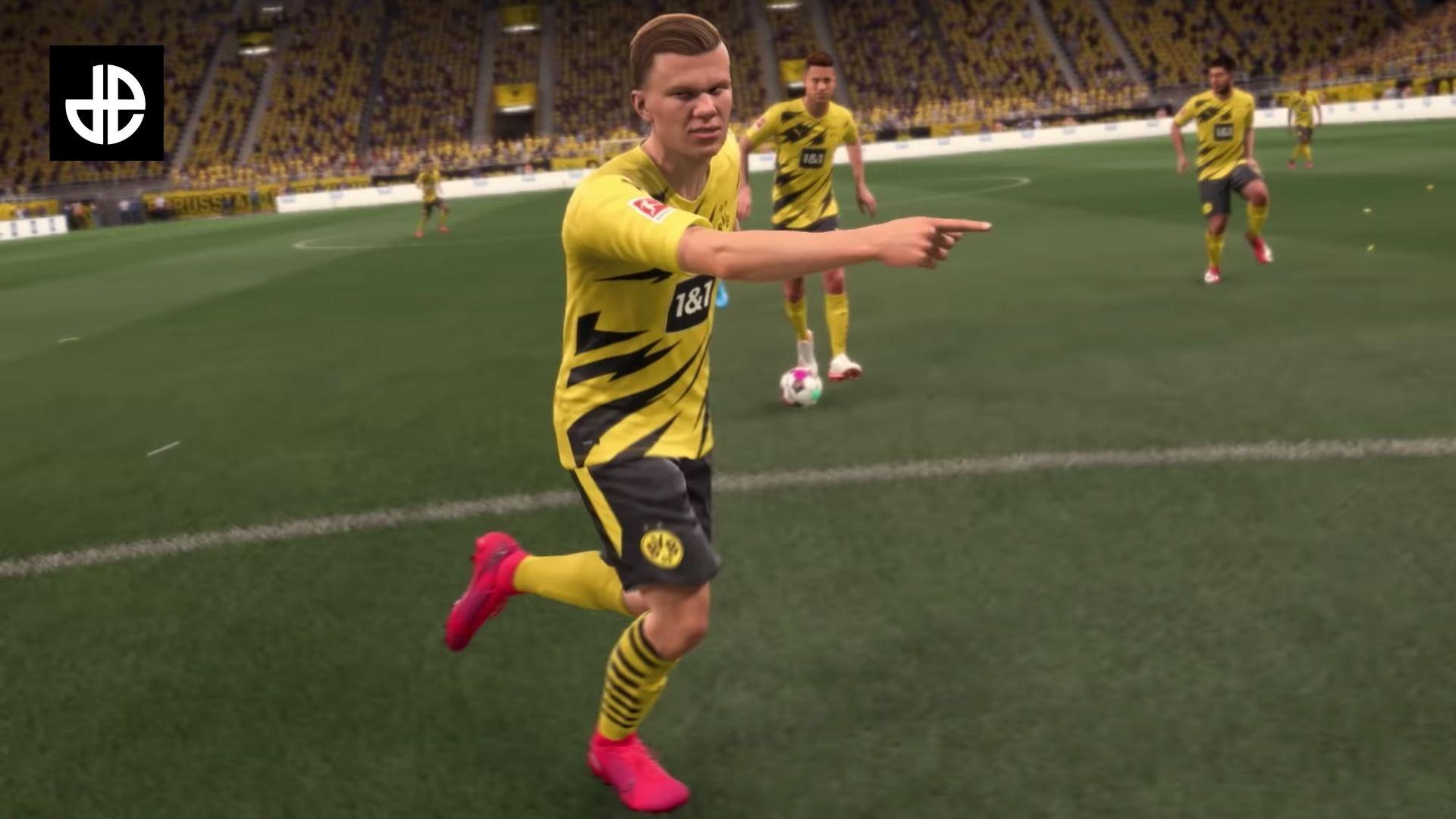 Haaland in FIFA 21