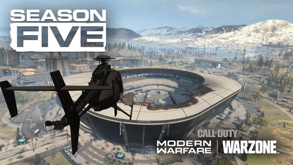 Warzone stadium in Season 5