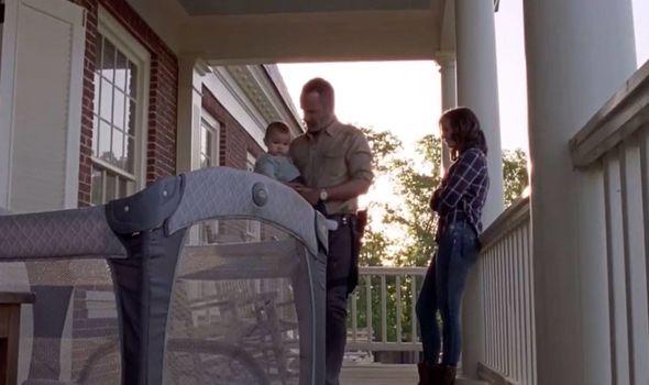 Hershel baby Walking Dead