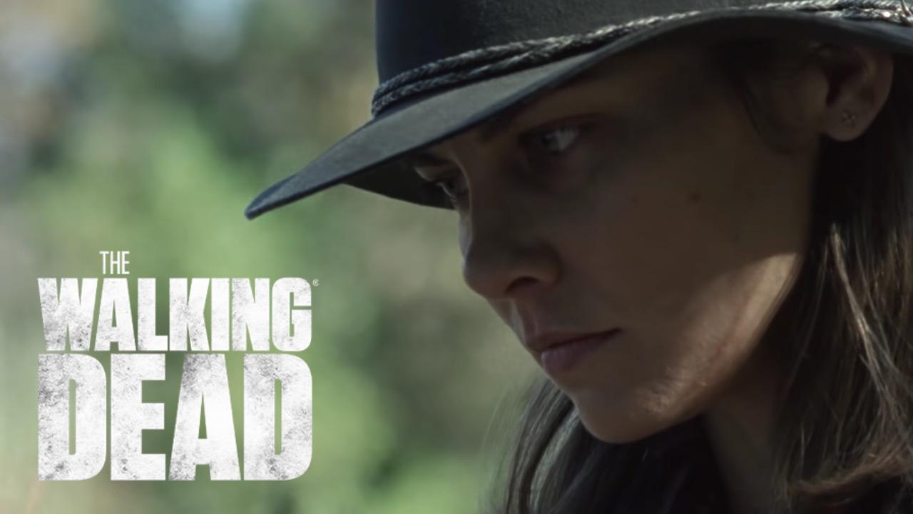 Maggie in the walking dead season 10