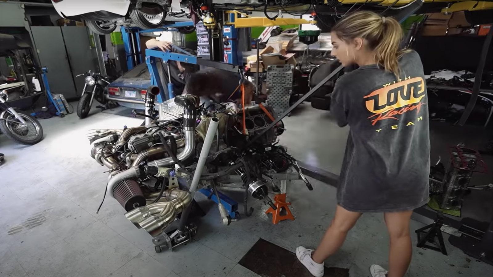 Emelia Hartford LT2 Engine