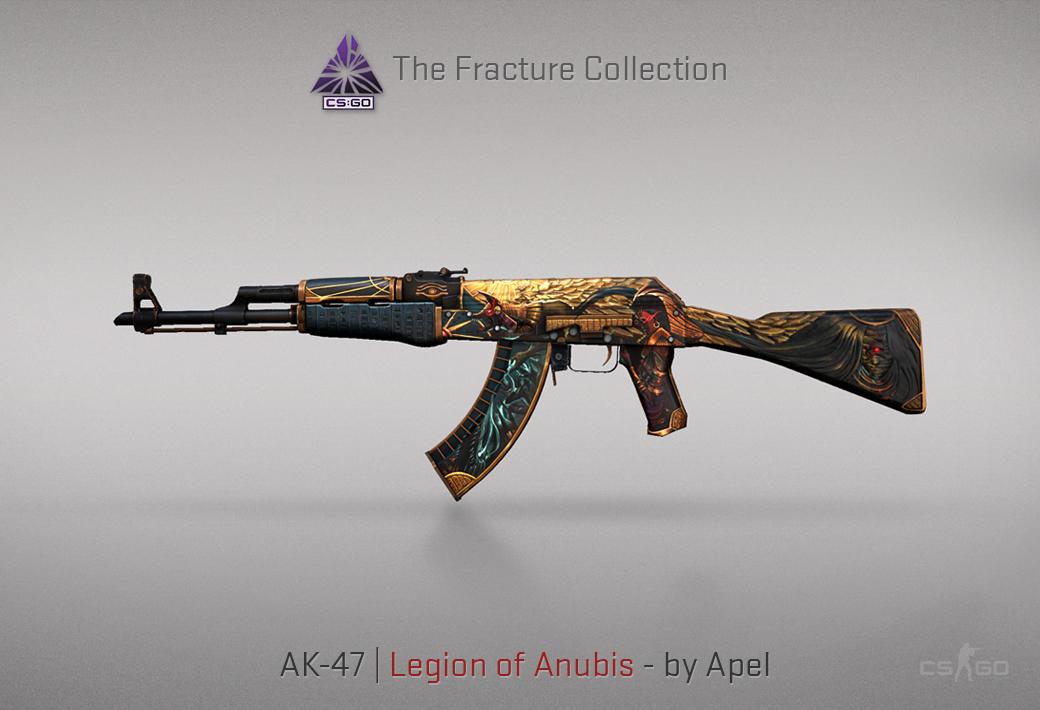 AK-47 Legion of Anubis skin in CSGO