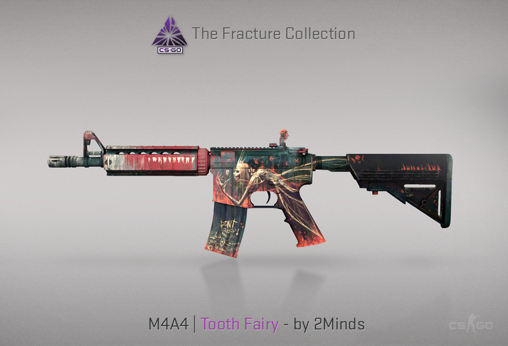 M4A4 Tooth Fairy skin for CSGO