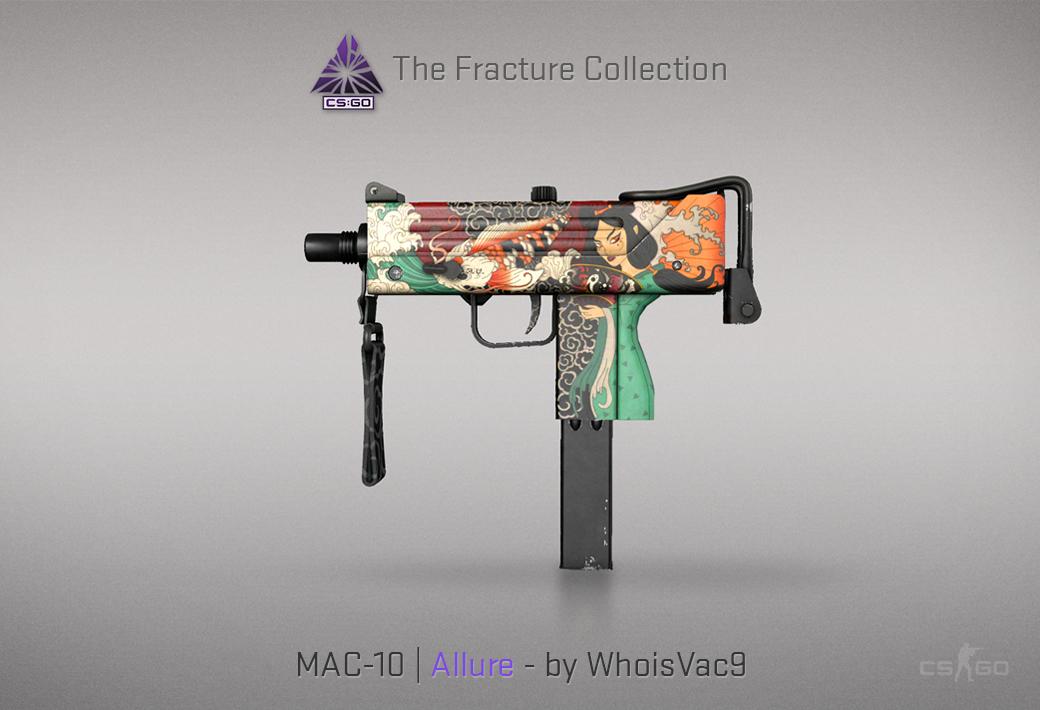 MAC-10 Allure skin for CSGO