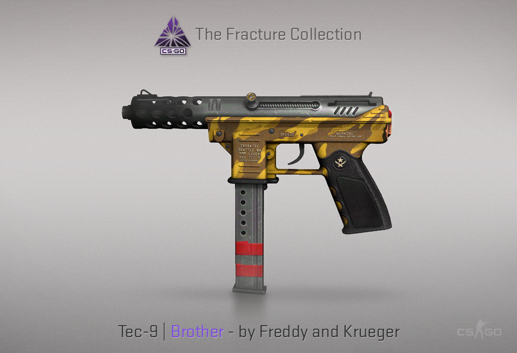 Tec-9 Brother skin for CSGO